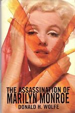 "DONALD H. WOLFE - ""THE ASSASSINATION OF MARILYN MONROE"" - 1st UK HB/DW (1998)"