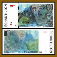 France Test Note Specimen, ND Maurice Ravel Echantillon Proof Unc