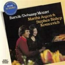 MARTHA ARGERICH / STEPHEN BISHOP / KOVACEVICH - BARTOK/DEBUSSY/MOZART - CD - NEW