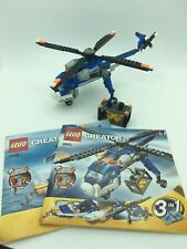 LEGO #4995 CREATOR - 3-in-1 Cargo Copter       100% complete