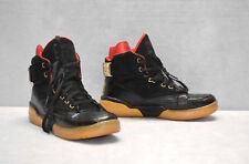 f04c4bc6 D0 авт Patrick Ewing MMG 33 Черный/Золото высоким верхом, баскетбольные  кроссовки туфли, размер 10.5