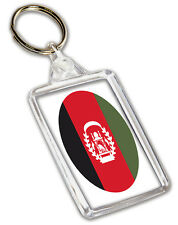 Afghanistan Afghan Flag  Keyring - Gift - Birthday - Christmas - Stocking Filler