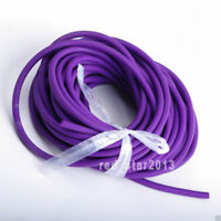 Purple Tube 5mm*5m Replacement Band for Hunting Sling Shot Slings Rubber