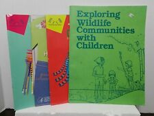 Vintage Girl Scout Exploring Wildlife Guide Plus 3 Out of Print Guide Books