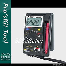 ProsKit MT-1506 POCKET TRUE-RMS AUTO RANGE MULTIMETER Auto Range Pocket Size NEW