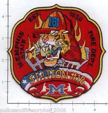 Tennessee - Memphis Station 18 TN Fire Dept Patch - Tiger