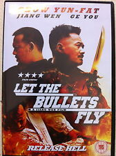 Chow Yun Fat LET THE BULLETS FLY ~ 2010 Chinese / Mandarin Action Epic ~ UK DVD