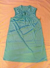 NWT  JC Penney Brand Blue nightgown size M ( VINTAGE? )