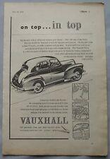 1949 Vauxhall Original advert No.2