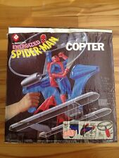 Energized Spiderman Copter 1978 Remco/irwin ( Canadian )