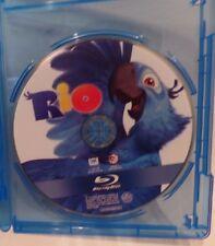RIO, BLU RAY SINGLE DISC W/BLU-RAY CASE, NO COVER ARTWORK