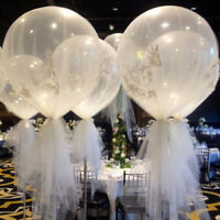 Sn _ 36'' Transparent Géant Large Latex Ballon Mariage Fiançailles Fête Déco