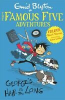 FAMOUS FIVE COLOUR SHORT STORIES GEORGES HAIR IS TOO LONG NUOVO BLYTON ENID HACH