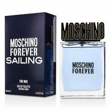 Moschino Forever Sailing For Men 3.4/3.3 oz/100ml Edt Spray New in Box
