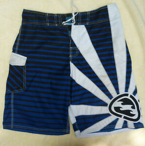 Billabong Andy Irons Rising Sun Boardshorts Blue  Sz 34
