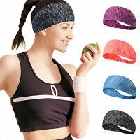 1PC Men Women Sport Sweatband Headband Yoga Gym Running Stretch Sports Head Band