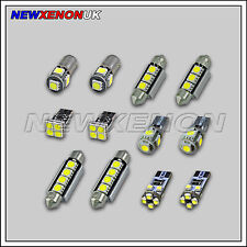 FORD MONDEO III MK3 - INTERIOR CAR LED LIGHT BULBS KIT - XENON WHITE