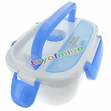 Portable Electric Heated Car Plug Heating Lunch Box Bento Travel Food Warmer 12V