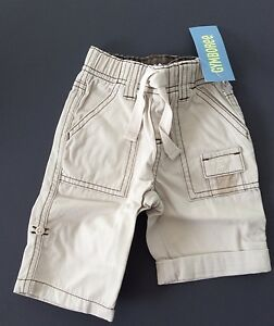 Adorable GYMBOREE'S BUG DETECTIVE 🐜  Tan  Roll Up Pants NWT 3-6 Months
