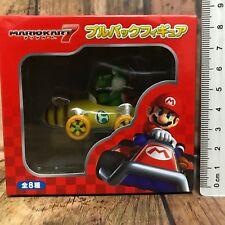 Nintendo Mario Kart 7 Pull Back Car Figure Yoshi Yossy