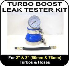 "TURBO BOOST LEAK TESTER Fits 2"" & 3"" (51 & 76mm) Turbos Pipes Hose Car Van Truck"