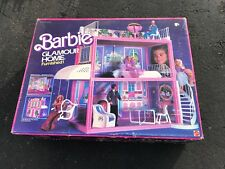FURNISHED BARBIE DOLL GLAMOUR HOME 1984 MATTEL DREAM HOUSE NEW IN SEALED BOX