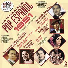 LOS Nº1 DEL POP ESPAÑOL 1951 -2CD