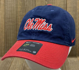 Ole Miss Rebels - Nike Heritage86 Unisex Adjustable Hat Cap (New with Tags)