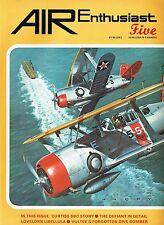 AIR ENTHUSIAST #5 NOV 77-FEB 78: CURTISS SBC/ DEFIANT STORY/MILES M.39 LIBELLULA