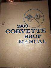 1963 Corvette Shop Manual Chevrolet Motor Division