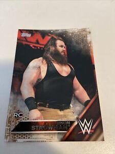 2016 Topps WWE Then Now Forever Bronze Braun Strowman