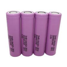 4x High Drain INR18650-30Q 3000mAh Li-ion Rechargeable Battery Flat Top for Vape