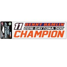 Denny Hamlin 2016 Wincraft #11 Daytona 500 Winner Decal 3x7 FREE SHIP!