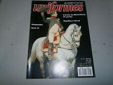 Revue uniformes Napoléon à cheval l'armée du Wurttemberg 70 Mousson de Macédoine