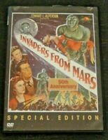 INVADERS FROM MARS 1953 (DVD, 2002 Image) Jimmy Hunt SCI-FI RARE OOP HTF! L@@K!