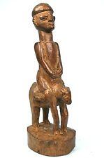 Art Africain Arts Premiers - Ancien Cavalier Horseman Yorouba Yoruba - 28 Cms