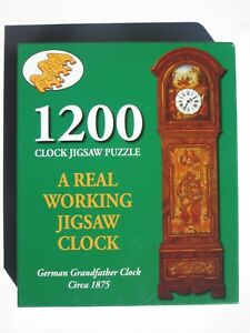 JIGSAW CLOCK - 1200 PIECES - REAL WORKING JIGSAW CLOCK