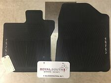 Toyota Venza 2009 - 2011 Front Factory All Weather Rubber Floor Mats Genuine OEM