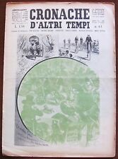 CRONACHE D'ALTRI TEMPI - N.61, 1959 - Velocipéde  Fahrer* >>>