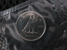 1970 Canadian Prooflike Dime ($0.10)