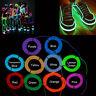 Neon LED Helles Glühen EL Draht Streifen Schlauch Tanz Partei Dekora 1/2/3/5M