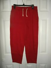 Great Abercrombie red men's size S sweatpants NWT