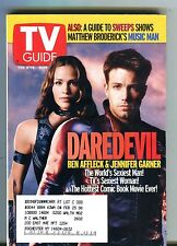 TV Guide Magazine February 8-14 2003 Ben Affleck Daredevil EX w/ML 100616jhe