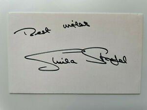 Sheila Steafel - Doctor Who - Ghosts of Motley Hall - Original HS Autograph