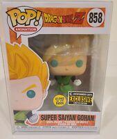 Funko POP! Animation Dragon Ball Z Super Saiyan Gohan #858 GITD Exclusive