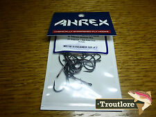 18 x AHREX NS110 #2 NORDIC SALT STREAMER HOOKS NEW FLY TYING MATERIALS