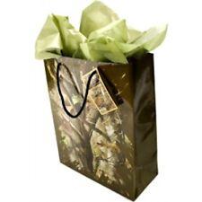 Next Camo Gift Bag 10″ wide x 12.5″ high x 4.25″ deep