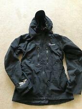 Berghaus Para Hombre Mera Pico Gore-Tex chaqueta de escalada propiedad de Nuevo Medio Negro.