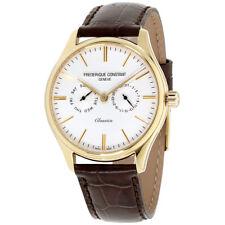 Frederique Constant Classics Blue Dial Leather Strap Men's Watch FC-259ST5B5