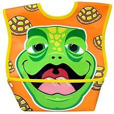 Dex Baby Dura Bib Big Mouth - Large 6-24 Months (Turtle)